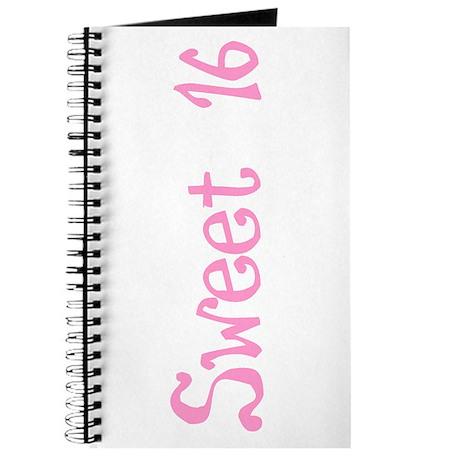 Sweet 16! Journal