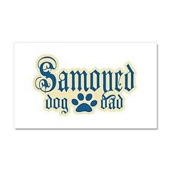 Samoyed Car Magnet 20 x 12