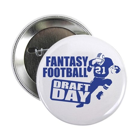 "Fantasy Football Draft 2.25"" Button (10 pack)"
