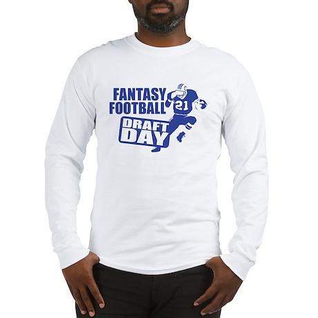 Fantasy Football Draft Long Sleeve T-Shirt