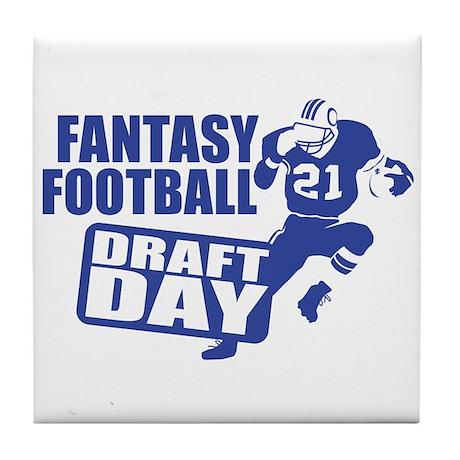 Fantasy Football Draft Tile Coaster