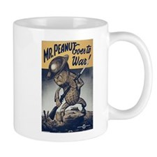 Mr. Peanut Goes to War Mug