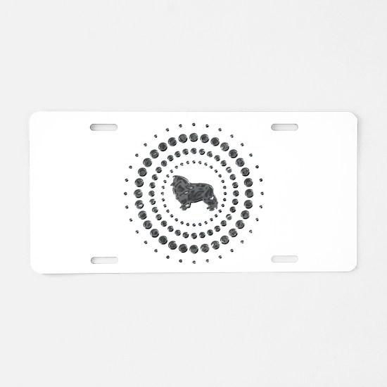 Shetland Sheepdog Aluminum License Plate