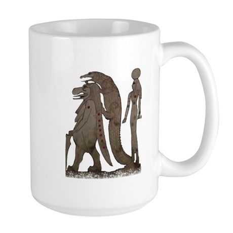 Egyptian,Hippo,Croc & Isis Large Mug