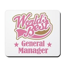 General Manager Gift Mousepad