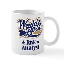 Risk Analyst Gift (World's Best) Mug