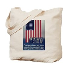 Victory for the American Way Tote Bag