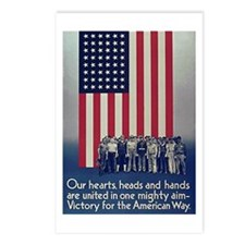 Victory for the American Way Postcards (Package of