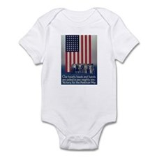Victory for the American Way Infant Creeper