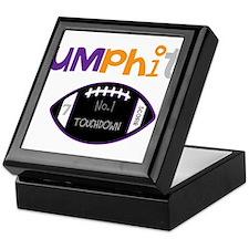 OYOOS Touchdown Football desi Keepsake Box