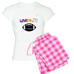 OYOOS Touchdown Football desi Pajamas