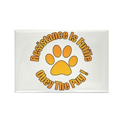Obey The Pug Rectangle Magnet (100 pack)