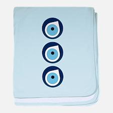 Evil eye remover baby blanket