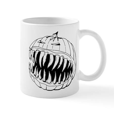 Angry Pumpkin Mug