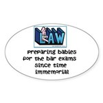 Legal Mother's Sticker (Oval 50 pk)