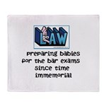 Legal Mother's Throw Blanket