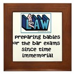Legal Mother's Framed Tile