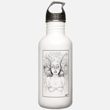 FEARLESS DAWN SKETCH Water Bottle