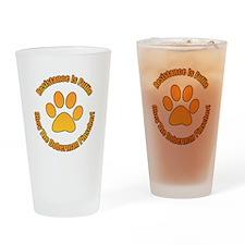 Doberman Pinscher Drinking Glass