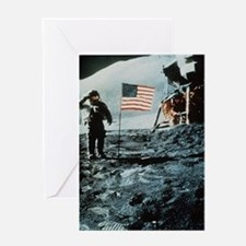 One Giant Leap For Mankind Greeting Card