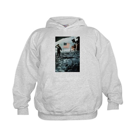 One Giant Leap For Mankind Kids Hoodie