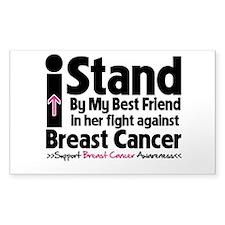 Stand BestFriend Breast Cancer Decal