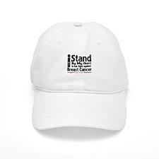 I Stand Aunt Breast Cancer Baseball Cap