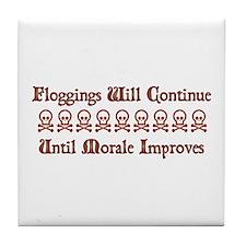 Floggings Tile Coaster