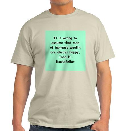 john d rockefeller Light T-Shirt
