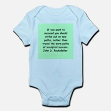 john d rockefeller Infant Bodysuit