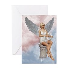 Angels Song Greeting Card