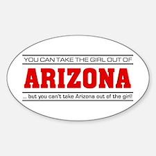 'Girl From Arizona' Decal