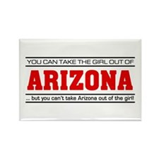'Girl From Arizona' Rectangle Magnet