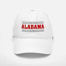 'Girl From Alabama' Baseball Baseball Cap