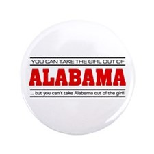 """'Girl From Alabama' 3.5"""" Button"""