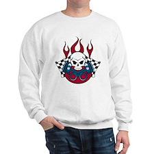 Racing Skull Sweatshirt