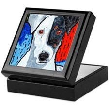 Right on Terrier Keepsake Box