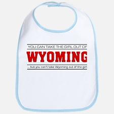 'Girl From Wyoming' Bib