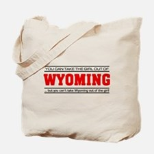 'Girl From Wyoming' Tote Bag