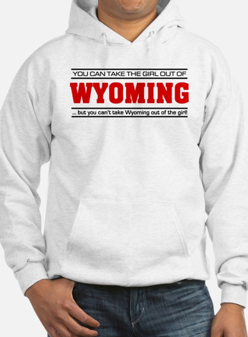 'Girl From Wyoming' Jumper Hoody