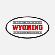 'Girl From Wyoming' Patches