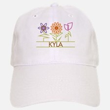 Kyla with cute flowers Baseball Baseball Cap