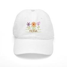 Fiona with cute flowers Baseball Baseball Cap