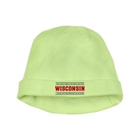 'Girl From Wisconsin' baby hat