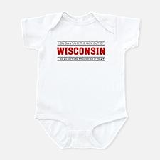 'Girl From Wisconsin' Infant Bodysuit