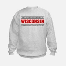 'Girl From Wisconsin' Sweatshirt