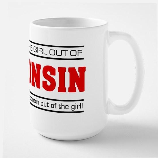 'Girl From Wisconsin' Large Mug