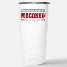 'Girl From Wisconsin' Travel Mug