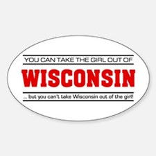 'Girl From Wisconsin' Decal