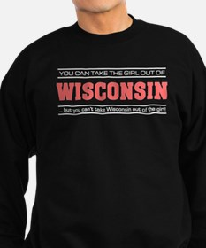 'Girl From Wisconsin' Sweatshirt (dark)
